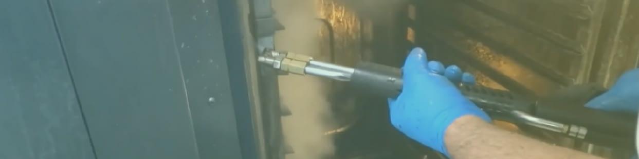 macchine di pulizia a vapore per industrie alimentari